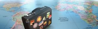 La maleta azul