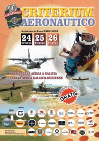 Próximas actividades aéreas en Lugo: Criterium Aeronáutico