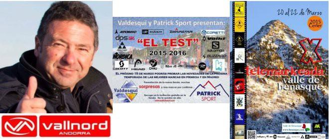 """Entrevistamos a Martí Rafel, Director General de Vallnord. Ivan Besson y """"El Test"""" de material. David Gómez y la Telemarkeada en Cerler."""