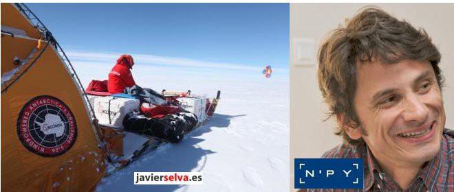 Con Javier Selva, hablamos de aventura extrema. Balance temporada NP'Y con Guillaume Roger Director de Comunicación y Marketing