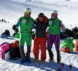 """Comienza la copa del mundo en Sölden. Entrevistamos a Quim Salarich del equipo nacional de esquí alpino y a Angel Calero, técnico de la RFEDI en la """"Casa de España"""" en Saas-Fee"""