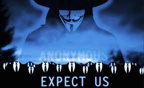 Un poco de Anonymous con @jdelgadopin y @Anon_Rasta