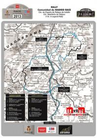 Análisis del recorrido del Rallye RACE Comunidad de Madrid 2013 by Alberto Monarri e Iñaki Paez