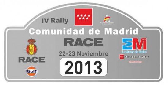 Análisis previo Rallye RACE Comunidad de Madrid 2013