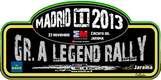 Análisis final Rallye RACE Comunidad de Madrid 2013, II Gr A Legend Rally