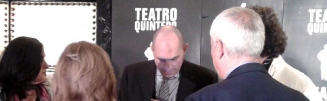 El juez Elpidio Silva en el Teatro Quintero de Sevilla