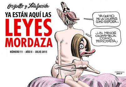 """Entra en vigor la Ley Mordaza: entrevista a Guillermo, dibujante de """"Orgullo y Satisfacción"""". El abogado Ledesma recusa a los 2 jueces del PP que juzgarán el """"caso Gürtel"""""""